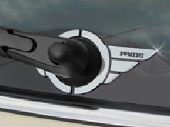 I love MINI リアワイパーウィング・ブラックレーベル BMW MINI F56