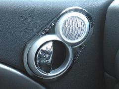 I love MINI ツィーター&オープナーリング BMW MINI R50/53