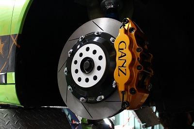 ブレーキシステム 取付例(VW シロッコ)