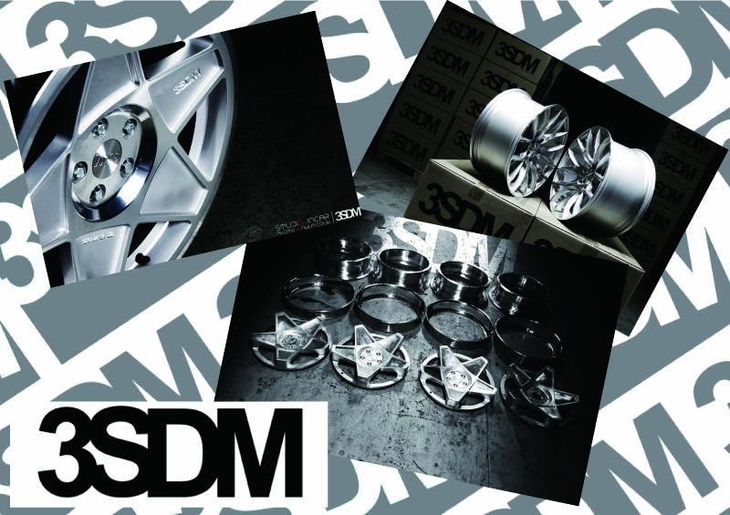 USやEUのフォルクスワーゲン&アウディユーザから高い人気を集めるホイールブランド「3SDM」
