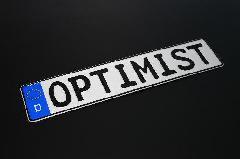 OPTIMIST OPTIMISTユーロプレート