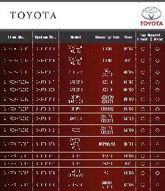 TOYOTA トヨタ エアレックスエアサスシステム 001〜014