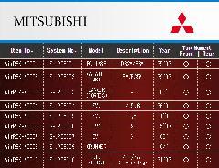 MITSUBISHI ミツビシ エアレックスエアサスシステム