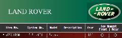 LANDROVER ランドローバー エアレックスエアサスシステム