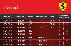 Ferrari フェラーリ エアレックスエアサスシステム