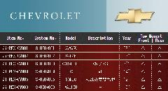 CHEVROLET シボレー エアレックスエアサスシステム