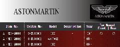 ASTON MARTIN アストンマーチン エアレックスエアサスシステム