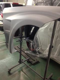メルセデスベンツCLS AMG板金塗装