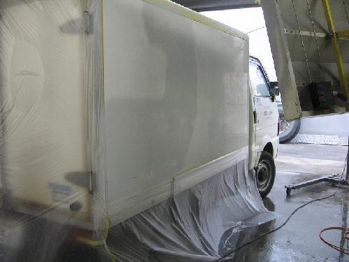 冷凍車/板金塗装