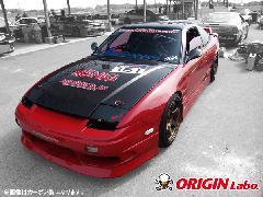 ORIGIN 180SX全年式 Type2 シルバーカーボン ボンネット