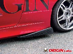 ORIGIN サイドアンダーカナード カーボン製 左右セット