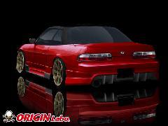 ORIGIN S13 シルビア全年式 レーシングライン リアバンパー
