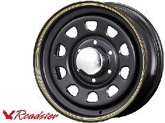 Daytona-RS 15インチ×6.5J+40 6穴 マットブラック 1本