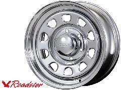 Daytona-RS 15インチ×6.5J+40 6穴 クローム 1本