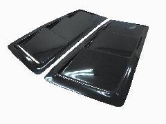 ORIGIN 汎用ボンネットダクトLS(左右) ブラックカーボン