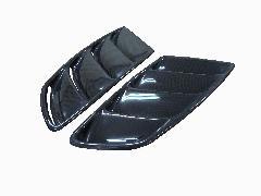 ORIGIN 汎用ボンネットダクトSS(左右) ブラックカーボン