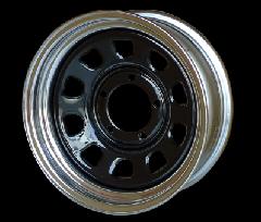 ORIGIN ジムニー 鉄心 16インチ 6J-20 ホイール ブラック×クローム