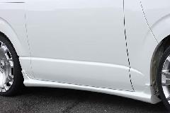 �V型 ハイエース標準ボディ Crave サイドステップ 1色ペイント