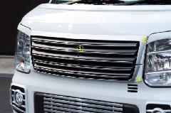 ALLURE DA17W エブリイワゴン フロントグリル 3色ペイント メッキモール付