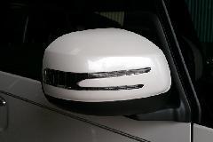 BRASSEN スタイリッシュウィンカーミラーキット ダイハツ車用 純正Pw/純正Bk/メッキ