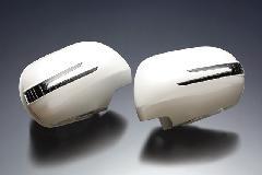 BRASSEN スタイリッシュウィンカーミラーキット 20系アルファード・ヴェルファイア用 純正Pw/純正BK