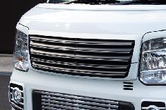 ALLURE DA17W エブリイワゴン フロントグリル 2色ペイント メッキモール付