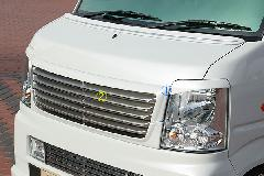 エブリーワゴン標準(DA64W) ALLURE フロントグリル 2P 2色ペイント メッキモール付