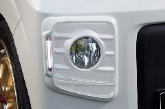 キャンペーン中!!ALLURE DA17W エブリイワゴン フォグライトガーニッシュ 1色ペイント ミニデイライト付