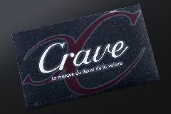 Craveデザインステッカー  L (340×195mm)