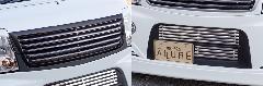 Summerキャンペーン☆エブリーワゴン 5型 PZ系 ALLURE フロントグリル 2P 1色ペイント メッキモール付+フロントバンパービレット
