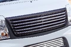 エブリーワゴン 5型 PZ系 ALLURE フロントグリル 2P 1色ペイント メッキモール付