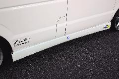 エブリーワゴン標準(DA64W) ALLURE サイドステップ 2色ペイント ダクト部塗り分け