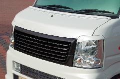 エブリーワゴン標準(DA64W) ALLURE フロントグリル 2P 1色ペイント メッキモール付