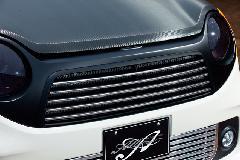 N‐ONE/Premium・標準共通 ALLURE フロントグリル 1色ペイント メッキモール付