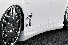 Crave ZRR70/75G ヴォクシー 前期 サイドパネル 1色ペイント