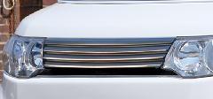 ALLURE L375Sタントカスタム前期 フロントグリル 1色ペイント メッキモール付