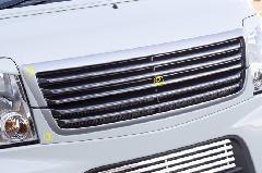 Summerキャンペーン中!!エブリーワゴン 5型 PZ系 ALLURE フロントグリル 2P 3色ペイント(デモカー仕様) メッキモール付