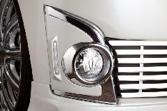 初売りキャンペーン中★ALLURE LA600Sタントカスタム フォグライトガーニッシュ 1色ペイント ミニデイライト付