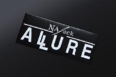 初売りキャンペーン中★ALLURE ステッカー ホワイト L (260×110mm)