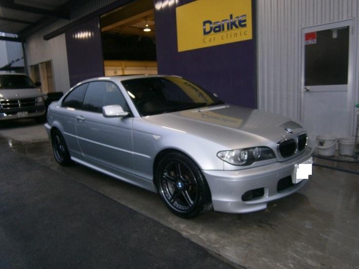 BMW  ホイール塗装
