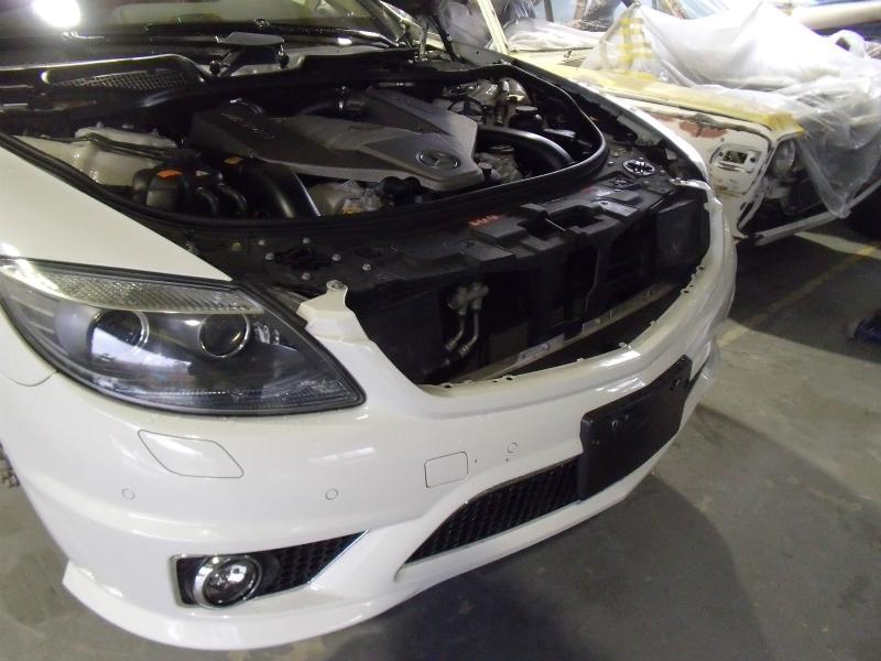 メルセデス ベンツ CL63 AMG ホイール塗装