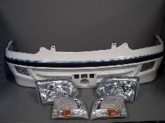 100S-012 最終型ワゴン フロント7点セット