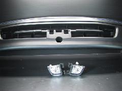 100K-011 後期型ワゴン バンパー&クリスタルフォグ 3点セット