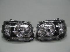 200�V-001 �V型 DX LEDブラックインナー ヘッドライト