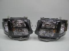 200�V-002 �V型 HIDブラックインナー LED付ヘッドライト