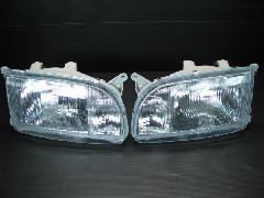 100C-001 中期型ワゴン ヘッドライト