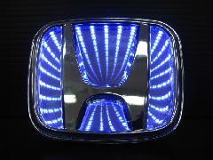 HONDA汎用 3D LEDエンブレム 《ブルー》