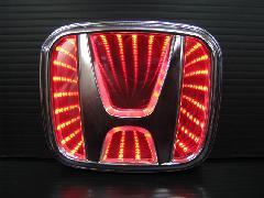 HONDA汎用 3D LED エンブレム 《レッド》