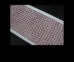 ドレスアップシート スワロフスキー風 薄ピンク 雑貨