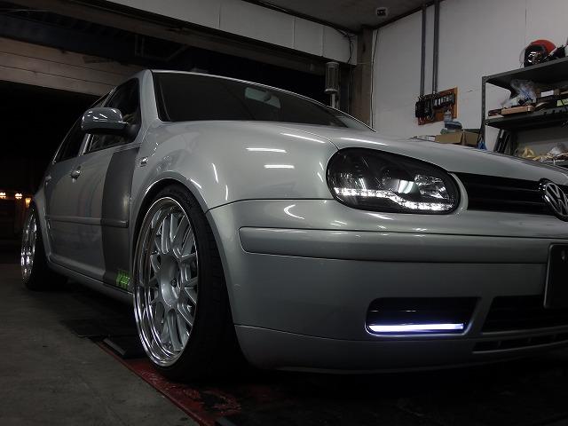 LEDヘッドライト グロスブラック塗装